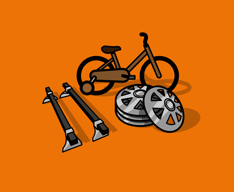 2 Motain bike Fahrräder